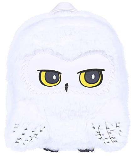 sarcia.eu witte pluche rugzak, uil Hedwig Harry Potter