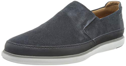 Clarks Bratton Step, Mocassin Homme, Navy Suede Leather...
