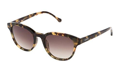 Loewe SLW930M500AGG Gafas de Sol, Shiny Havana, 50 para Mujer