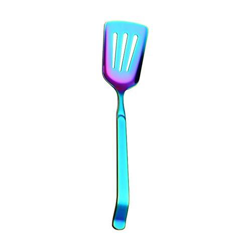remote.S - Juego de Utensilios de Cocina de Acero Inoxidable, 5 Unidades, diseño de Arco Iris, Pelle utilitaire de Couleur