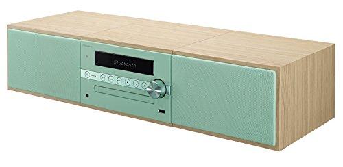 Pioneer X-CM56 HiFi-Micro-System (CD-Player, Lautsprecher, UKW Radio, Bluetooth, USB, MP3, 2 x 15 Watt) Kompaktanlage für Küche, Wohnzimmer, Schlafzimmer und Büro, Mint