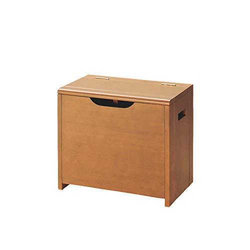 [ベルメゾン] 収納ベンチ 玄関ベンチ 木製 完成品 収納 椅子 ナチュラル 幅50cm
