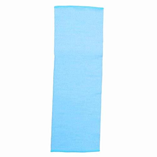 Cosiki Toalla de baño de Tela de Calidad, Toalla de Limpieza Corporal, Estilista Profesional para salón de Belleza, salón Familiar, Tienda de salón(Blue)