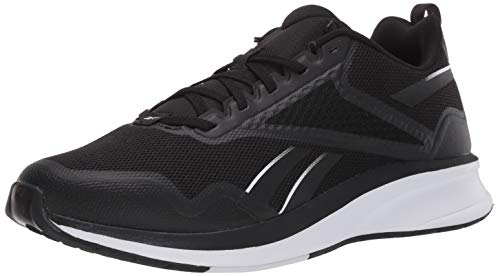 Reebok Men's Unisex FUSIUM Run LITE Shoe, Black/Black/White,...