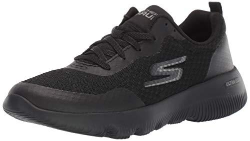 Skechers Women's Go Run Focus-15165 Sneaker, Black, Numeric_5