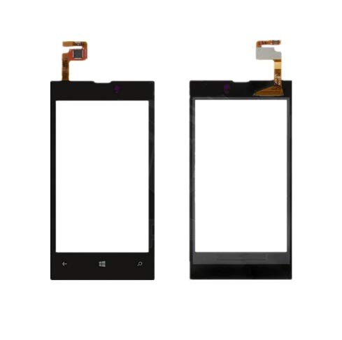 MrSpares Touch Screen Digitizer Panel for Nokia Lumia 520 : Black