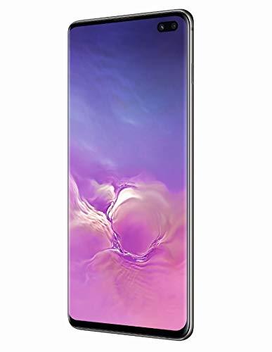 Samsung Galaxy S10+ Dual SIM, 512 GB interner Speicher, 8 GB RAM, Ceramic Black, [Standard] Andere Europäische Version
