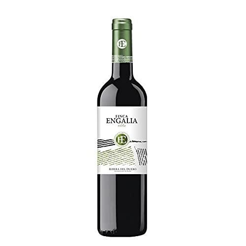 Vino Tinto Finca Engalia Roble - D.O. Ribera del Duero - Caja de 6 Botellas de 75 cl - (6x75cl)