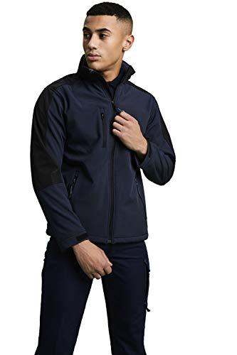Regatta Veste Softshell Homme Imperméable et Respirante avec Capuche HYDROFORCE Soft Shell Homme Navy/Black FR: L (Taille Fabricant: L)
