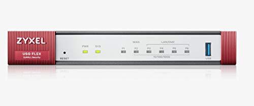 Zyxel ZyWALL Network Security/Firewall UTM fornito con una licenza di 1 anno per servizi di sicurezza [USGFLEX100]