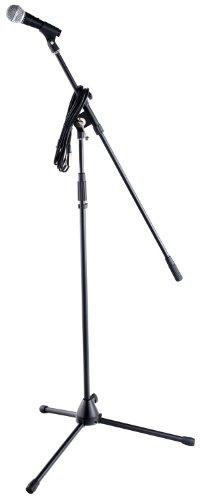 """Kirstein 6831 - Set de micrófono XXL""""Superstar"""", incluye pie de micro y cable"""