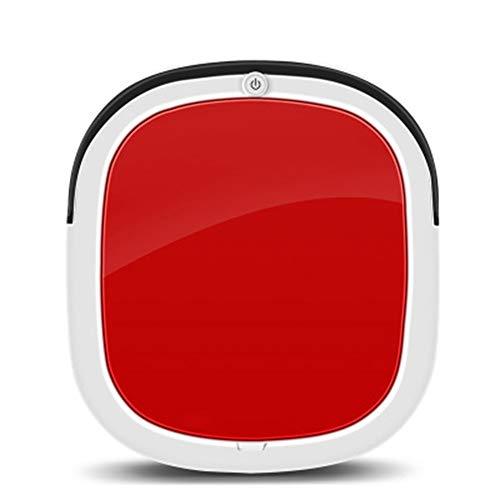 QXM Robot De Balayage Intelligent Balayant 3 en 1 Robot De Nettoyage Domestique Automatique Mini,Red