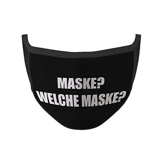 Copytec Mundmaske Maske Welche Maske Hunor Fun Spruch Nasen Mund Bedeckung Lustig #35608