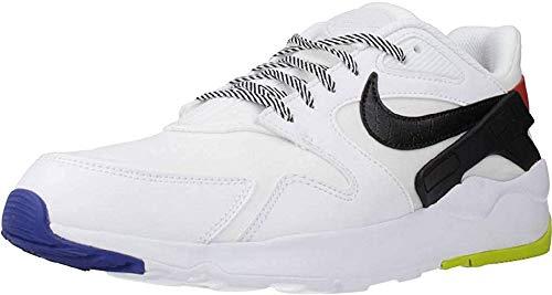 Nike LD Victory, Zapatilla de Correr Hombre, White/Black/Track Red/BRT Cactus/Hyper Blue, 40.5 EU