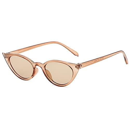 MOHAN88 Gafas de Sol Estilo Ojo de Gato Retro con Montura pequeña