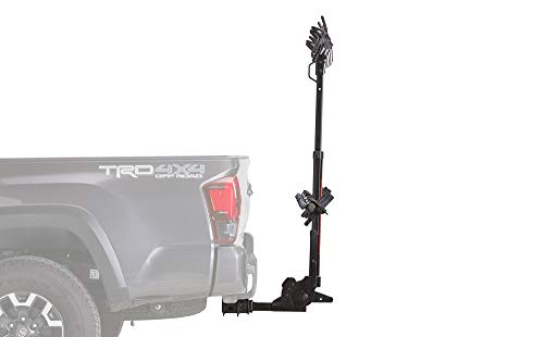 YAKIMA, Hangover Vertical Hitch Rack for Suspension Fork Bikes, 4 Bike