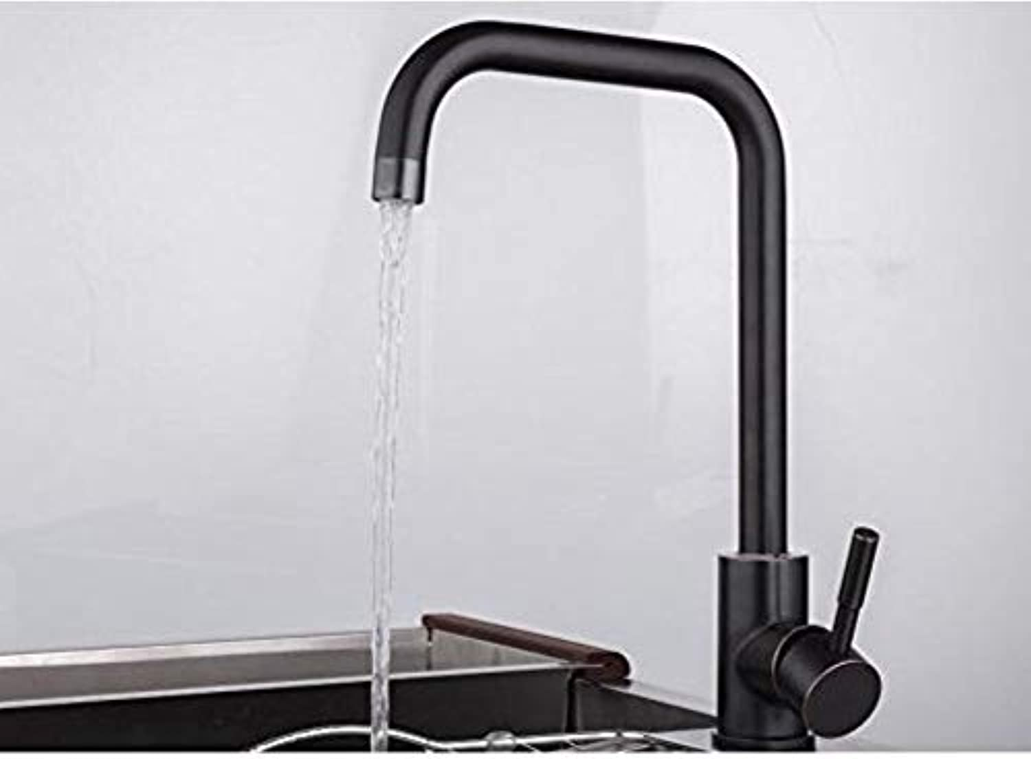 360° redating Faucet Retro Faucet Kitchen Sink Taps Single Handle1Stainless Steel Sink Faucet