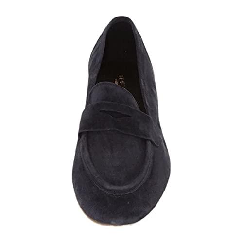 LLOYD Damen Slipper in Blau, Größe 4