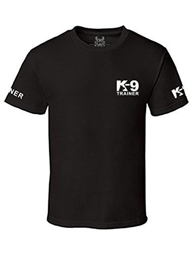 Gs-eagle Men's K-9 Trainer Graphic T-Shirt Large Black