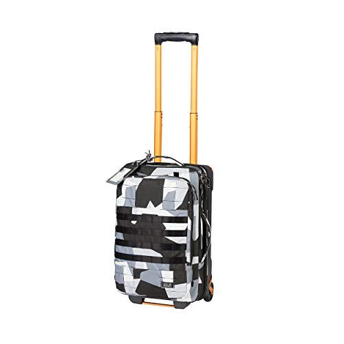 Jack Wolfskin Unisex– Erwachsene Trt Rail 40 Freizeittasche, Grey geo Block, One Size