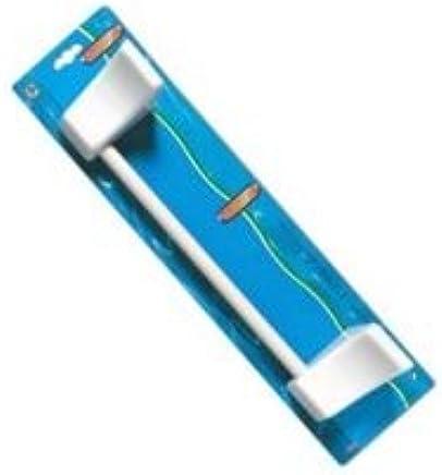 38/cm Blanco Eliplast 270//1/0/pl/ástico Soporte para Toalla