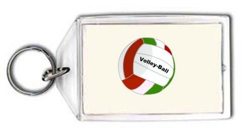 Schlüsselhalter mit der Grafik: Volleyball