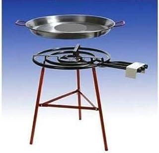 Paella Barbacoa Set Malaga, 70cm gas Grabadora, 90cm–Paella.