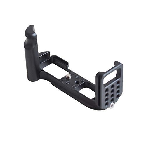 FXF-ZHIJIA, Vertical Quick Release Plate L/Soporte Holder Grip Fit for Fuji X-A3 Xa3 RRS Sunwayfoto Markins Compatible (Color : Negro)