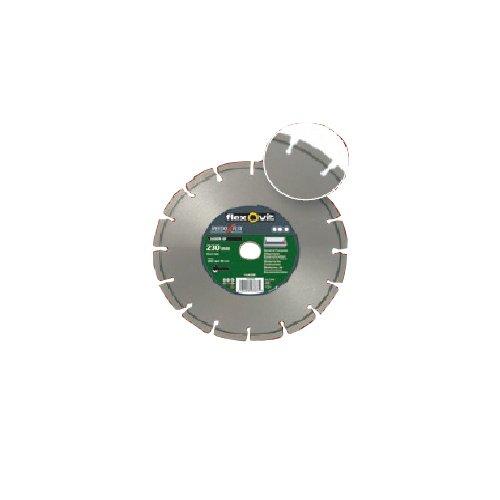 Flexovit 70184623389 diamantschijf voor haakse slijper, 230 mm D x 7 mm L x 2,5 mm E x 22,23 mm