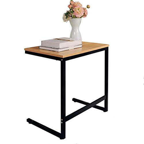 Wangczdz Draagbare bureauhouder voor notebook, kleine sofa, nachtkastje, slaapzaal, kleine tafel, eettafel, blad van hout