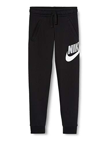 Nike Jungen Sportswear Club Fleece Jogginghose, Schwarz/Schwarz, M
