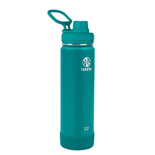 Takeya Edelstahl-Flasche, 625 ml, baltisches Blaugrün