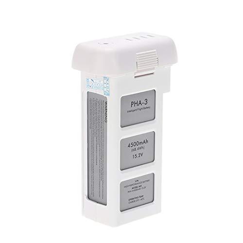 SilenceID Compatible with DJI Phantom3 Professional Advanced 15.2 V 4500mAh Intelligent Battery (Bianca)
