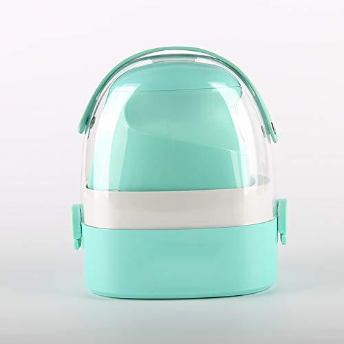 Mini-stoomstrijkijzer, licht, draagbaar, compact, 800 watt, stoomstrijkijzer, voor woonkamer groen