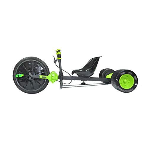 Unbekannt Kinder Drift Trike, Kickscooter, Razor Dreirad, Einzigartiges Drifterlebnis, Das Hinterrad zu Verbreitern ist Stabiler, für Kinder ab 5 Jahren