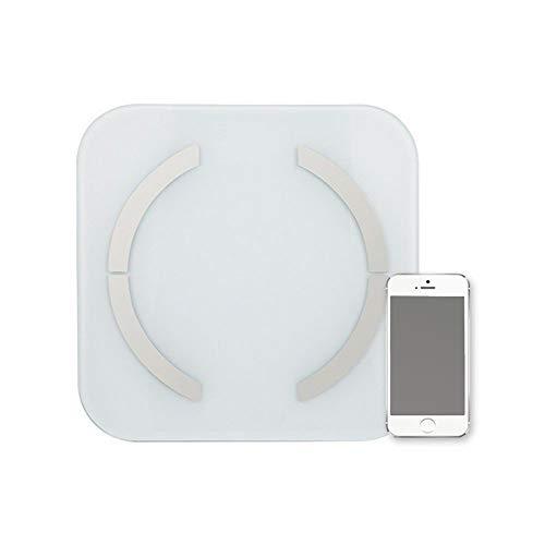 Find Bargain JXSHQS Intelligent Body Fat Weighing Health Scales Fat Scales Dual-Band Bluetooth Preci...