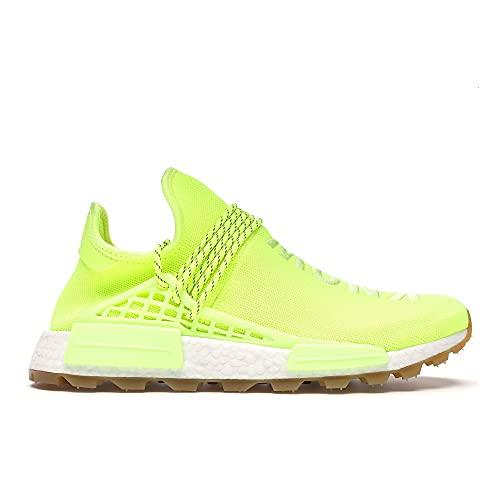 adidas Hombre PW HU NMD PRD Zapatillas Amarillo, 45 1/3