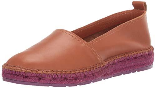 Andre Assous Women's Indigo Loafer Cuero/Raspberry 8 M US