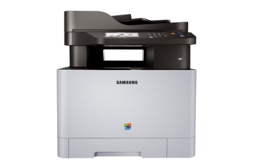 Samsung Xpress C1860FW Wireless Color Laser Printer with Scan/Copy/Fax, Simple NFC + WiFi Connectivity and Built-in Ethernet (SS205H)