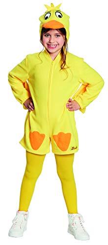 Disfraz infantil de pato, color: amarillo, talla: 128