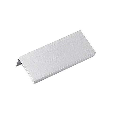 FBSHOP(TM) 2 Stück Mode Versteckte Kabinett Griffe Schrankgriffe | einfacher unsichtbarer Möbelgriffe | Fingerschublade ziehen | Knöpfe für Küchentür-Schubladenschrank, Schiebetürgriffe
