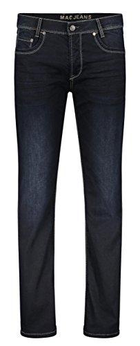 MAC Jeans Herren Arne Straight Jeans, Blau (Dark Blue Od Black H796), 40W / 30L