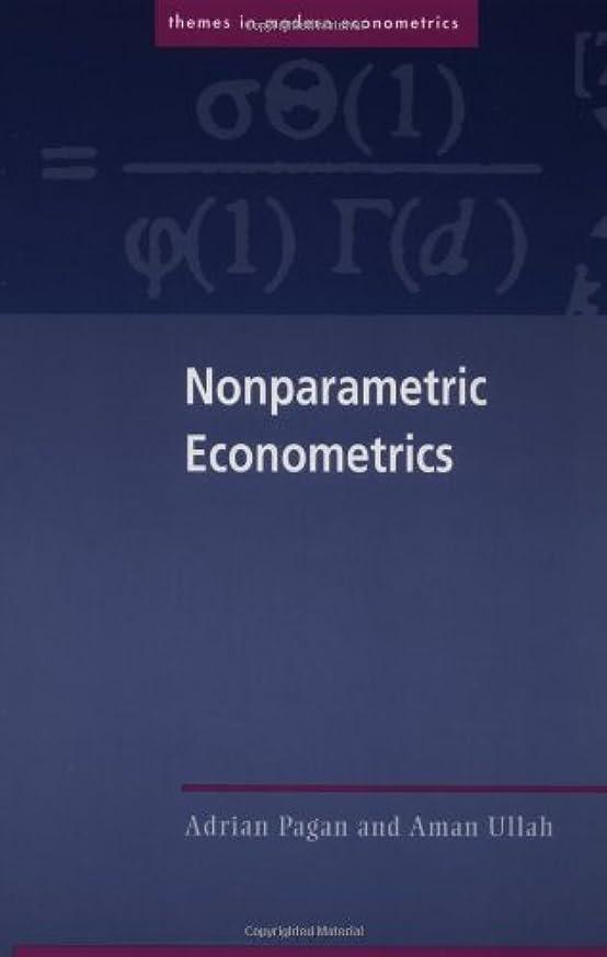 排気コマース十年Nonparametric Econometrics (Themes in Modern Econometrics)