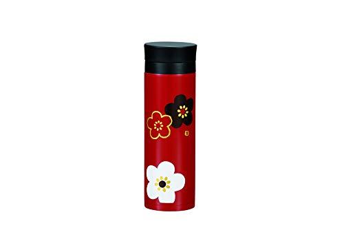 たつみや(Tatsumiya) 軽量ステンレスマグボトル 300 朱 華文様梅 36661