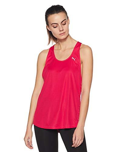 PUMA Damen Tank Top TP Long, virtual pink, L, 510469 03