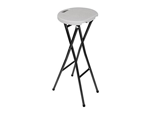 Perel Tabouret de Bar Pliant, Multicolore