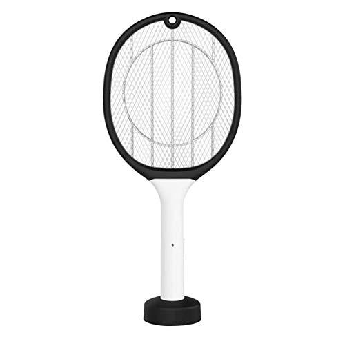 Killer Lamp Insect 2 En 1 Matamosquitos Eléctrico, Control De Plagas De Insectos Portátil De Verano Inalámbrico, Raqueta De Interior Al Aire Libre para El Hogar