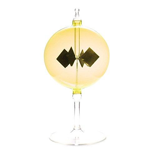 Lichtmühle Radiometer 80mm mit Fensterbild Fusing Lichtmühlen von GlasXpert