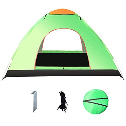 SHIJIANX Tienda de Campaña,Tienda de Trekking Ultraligero Impermeable con Bolsa de Almacenamiento y Malla Transpirable,Fácil de Configurar,para Trekking,Campamento,Playa,Etc