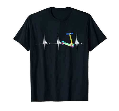 E-Scooter de vespa del pulso del EKG del latido del jinete de la vespa del acrobacias Camiseta